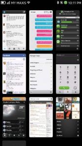 N9 Multi-Tasking View